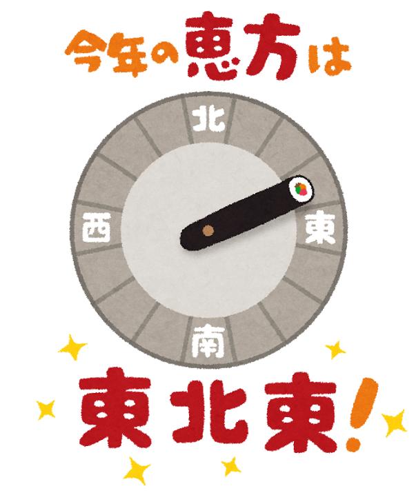 練馬区、中村橋・富士見台、サヤン鍼灸院・接骨院ブログ、2019年恵方