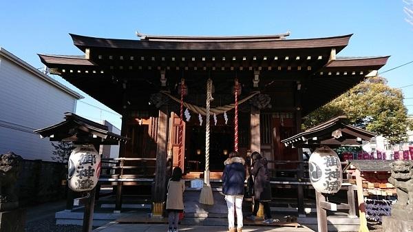 練馬区、中村橋・富士見台、サヤン鍼灸院・接骨院ブログ、練馬白山神社の本殿
