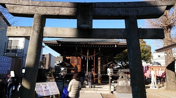 練馬区、中村橋・富士見台、サヤン鍼灸院・接骨院ブログ、練馬白山神社の門