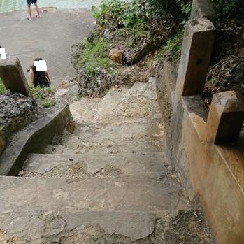 練馬区、中村橋・富士見台、サヤン鍼灸院・接骨院ブログ、アマミチューの墓、階段
