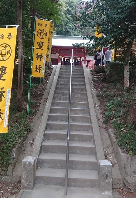 練馬区、中村橋・富士見台、サヤン鍼灸院・接骨院ブログ、聖神社入り口