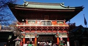 練馬区、中村橋・富士見台、サヤン鍼灸院・接骨院ブログ、神田明神の門