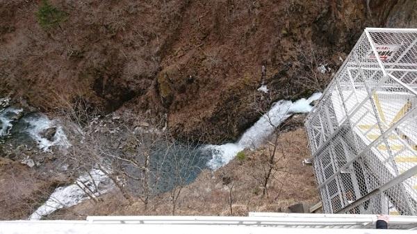 練馬区、中村橋・富士見台、サヤン鍼灸院・接骨院ブログ、華厳の滝より下を見る