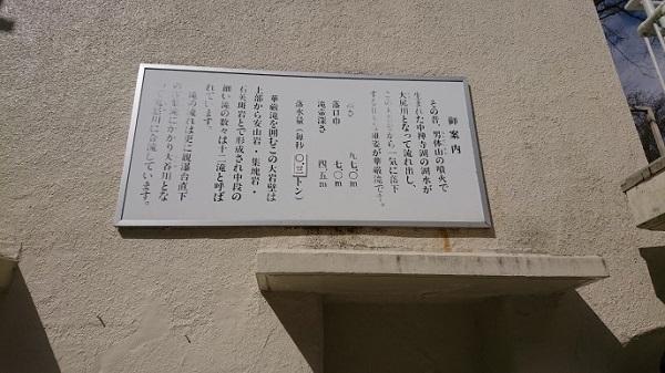 練馬区、中村橋・富士見台、サヤン鍼灸院・接骨院ブログ、華厳の滝、大尻川