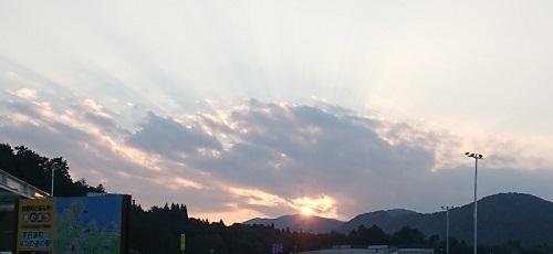 練馬区、中村橋・富士見台、サヤン鍼灸院・接骨院ブログ、京丹波、味夢の里の夕暮れ