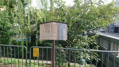 練馬区、中村橋・富士見台、サヤン鍼灸院・接骨院ブログ、京都、一条戻橋看板