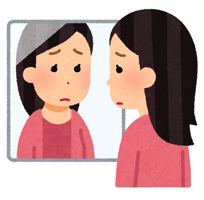 練馬区、中村橋・富士見台、サヤン鍼灸院・接骨院ブログ、鏡を見る人
