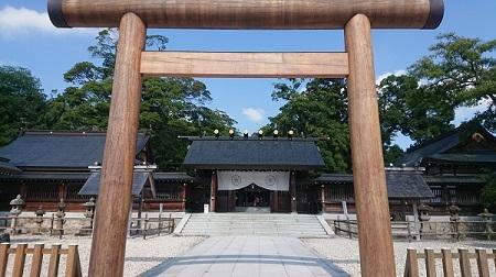 練馬区、中村橋・富士見台、サヤン鍼灸院・接骨院ブログ、元伊勢籠神社の門2
