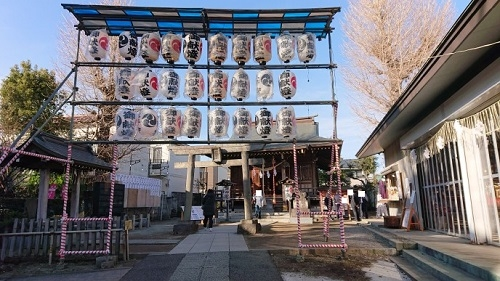練馬区、中村橋・富士見台、サヤン鍼灸院・接骨院ブログ、練馬白山神社、本社