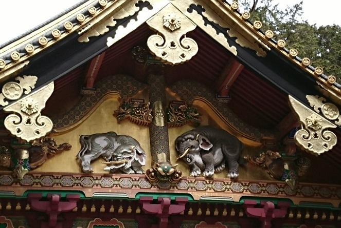 練馬区、中村橋・富士見台、サヤン鍼灸院・接骨院ブログ、日光東照宮、上神庫、想像の象