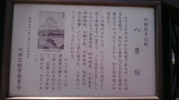 練馬区、中村橋・富士見台、サヤン鍼灸院・接骨院、大森八景坂にて