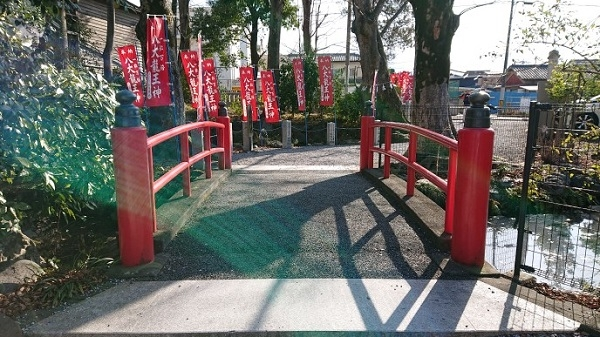 練馬区、中村橋・富士見台、サヤン鍼灸院・接骨院ブログ、秩父今宮神社、赤い橋
