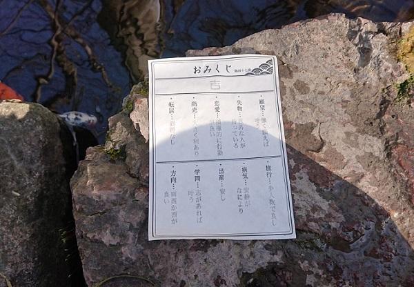 練馬区、中村橋・富士見台、サヤン鍼灸院・接骨院ブログ、秩父今宮神社、水みくじ2