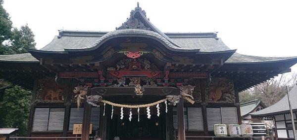 練馬区、中村橋・富士見台、サヤン鍼灸院・接骨院ブログ、秩父神社・本殿