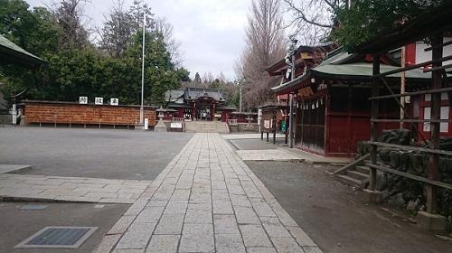練馬区、中村橋・富士見台、サヤン鍼灸院・接骨院ブログ、秩父神社入り口