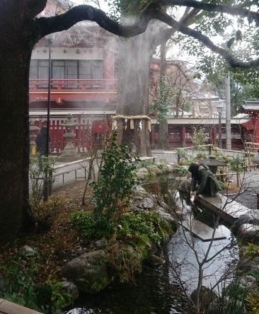 練馬区、中村橋・富士見台、サヤン鍼灸院・接骨院ブログ、秩父神社・水占いの池