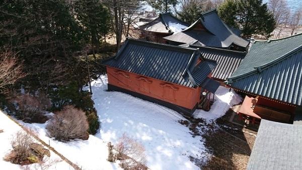 練馬区、中村橋・富士見台、サヤン鍼灸院・接骨院ブログ、中禅寺、立木観音を見て雪を見る